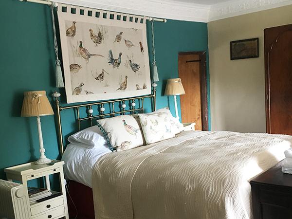 The Abbott room at Higher Biddacott Farm Bed and Breakfast.